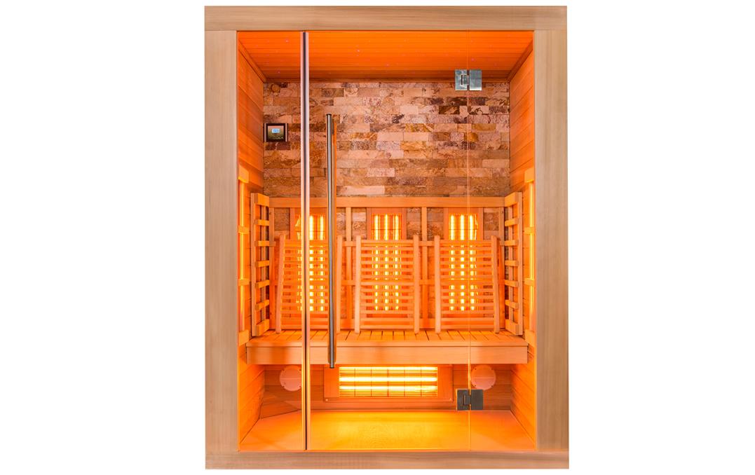 De beste infrarood sauna op maat of in voorraad