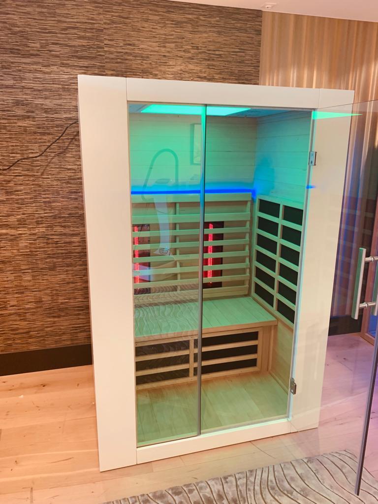 Infrarood sauna klein model
