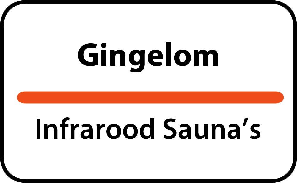 infrarood sauna in gingelom