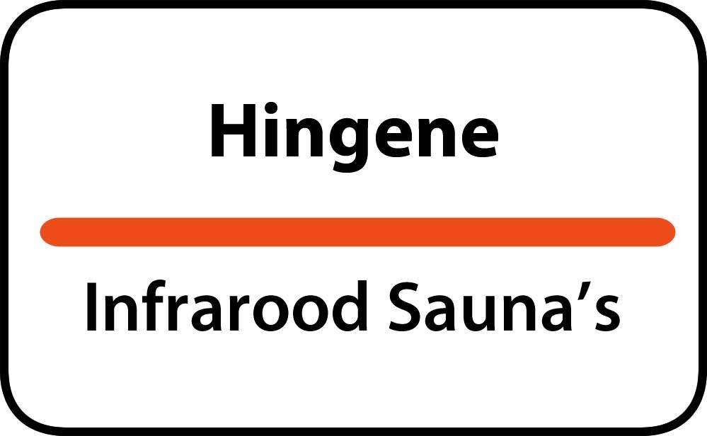 infrarood sauna in hingene