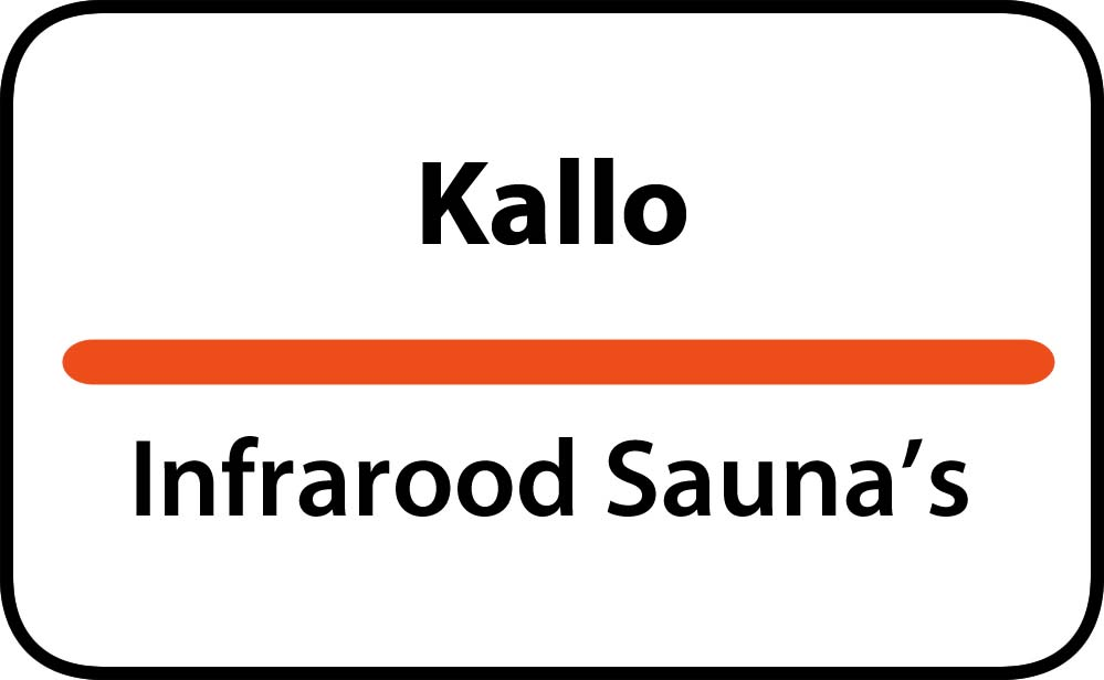 infrarood sauna in kallo