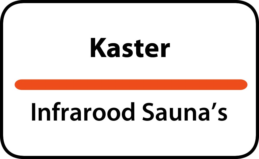 infrarood sauna in kaster