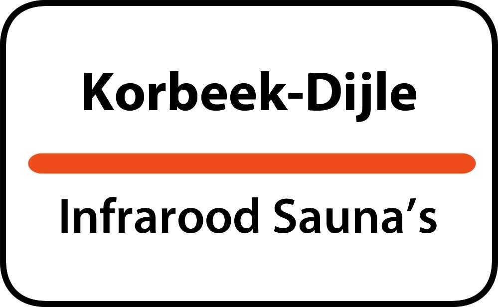 infrarood sauna in korbeek-dijle