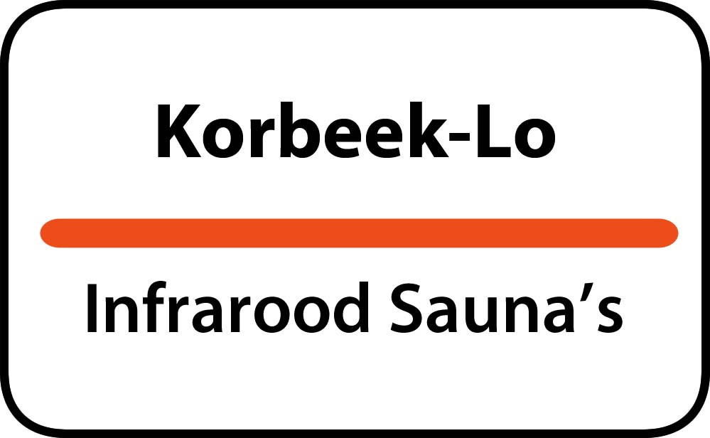 infrarood sauna in korbeek-lo