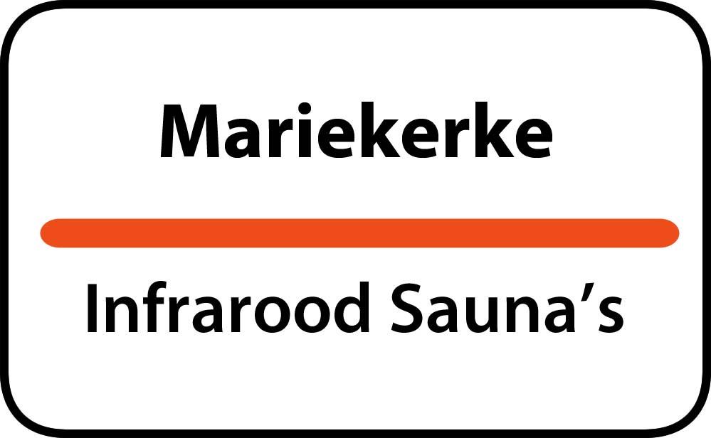 infrarood sauna in mariekerke