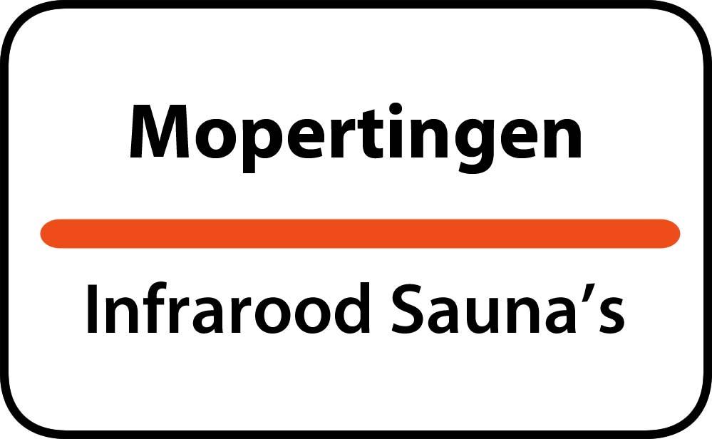infrarood sauna in mopertingen