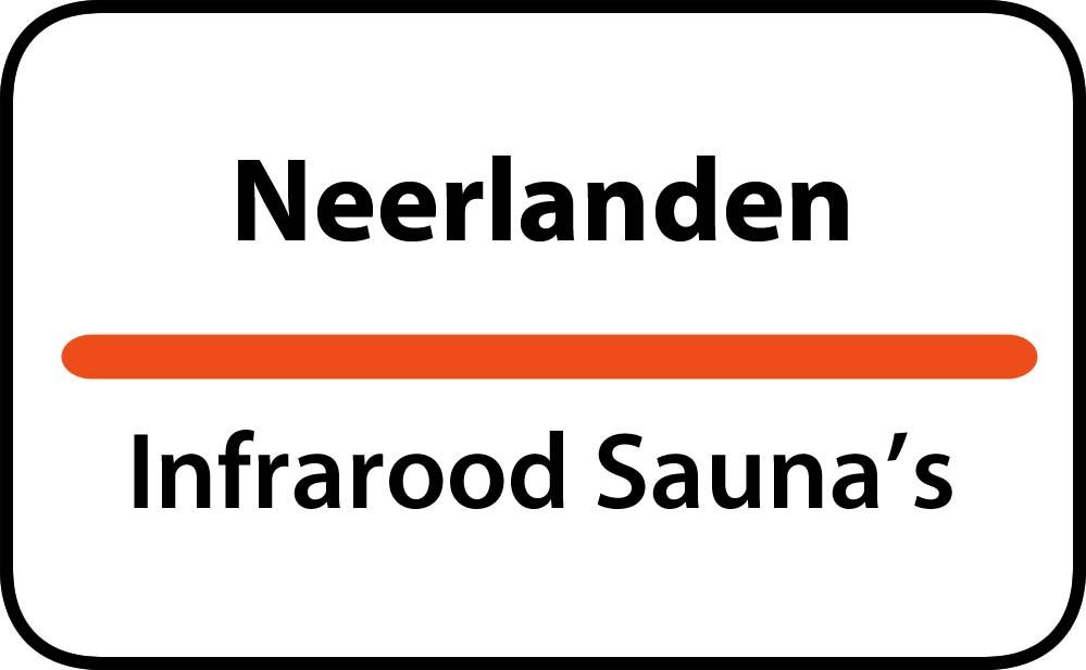 infrarood sauna in neerlanden