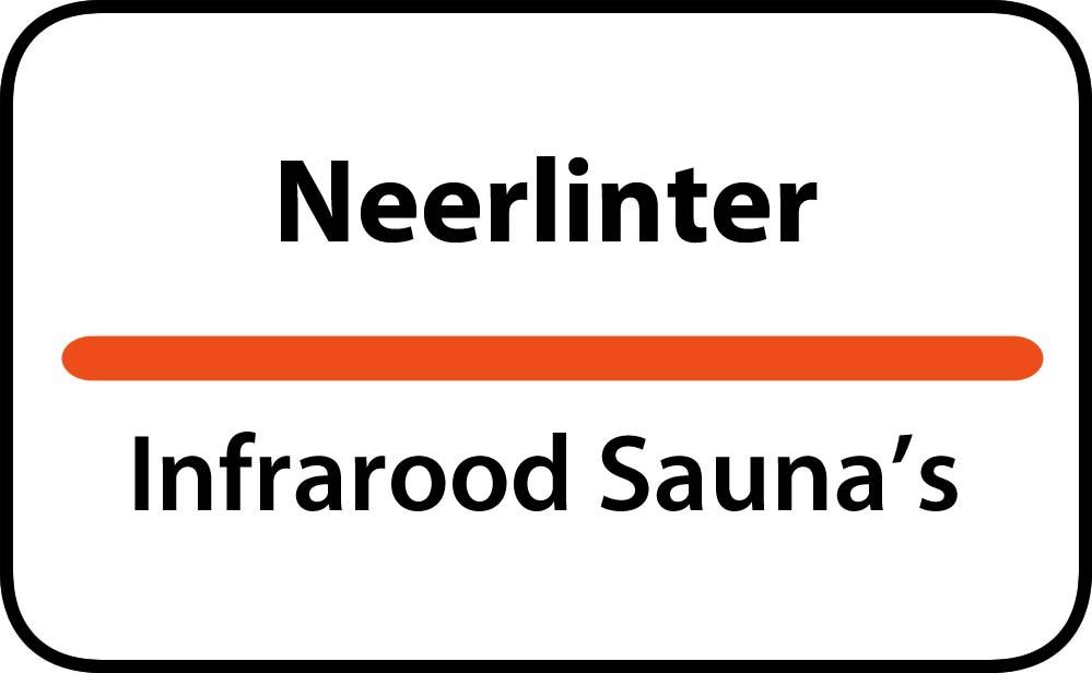 infrarood sauna in neerlinter