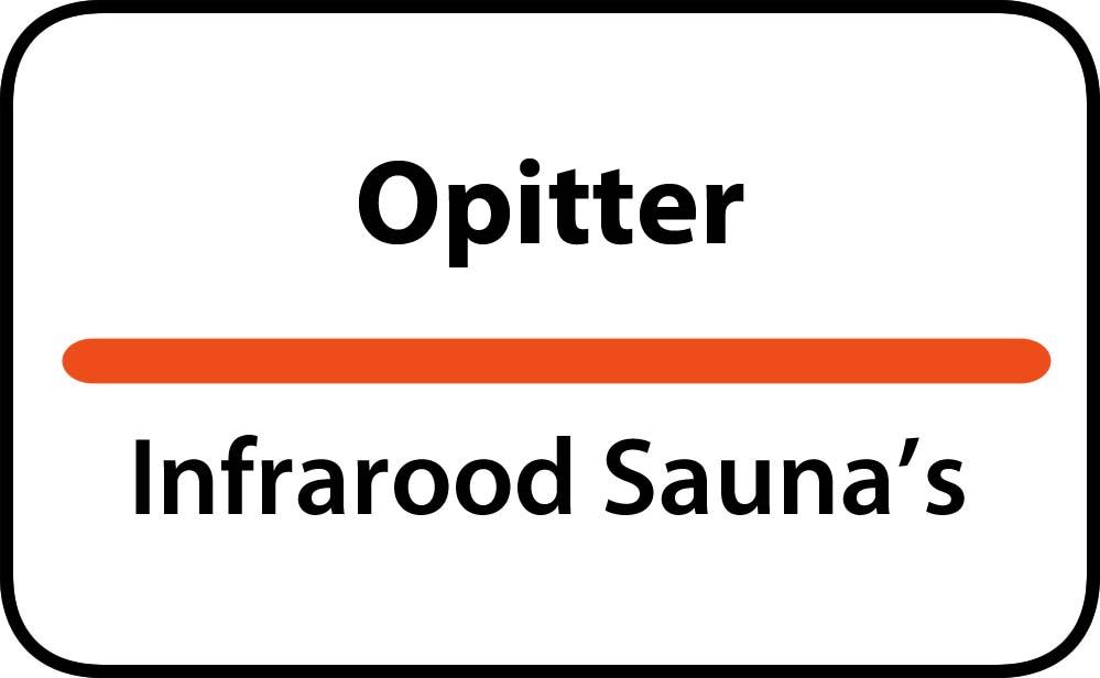 infrarood sauna in opitter