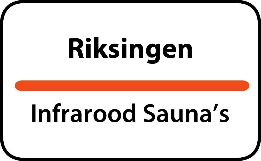 infrarood sauna in riksingen