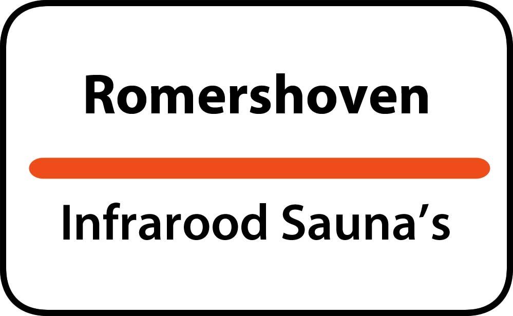 infrarood sauna in romershoven