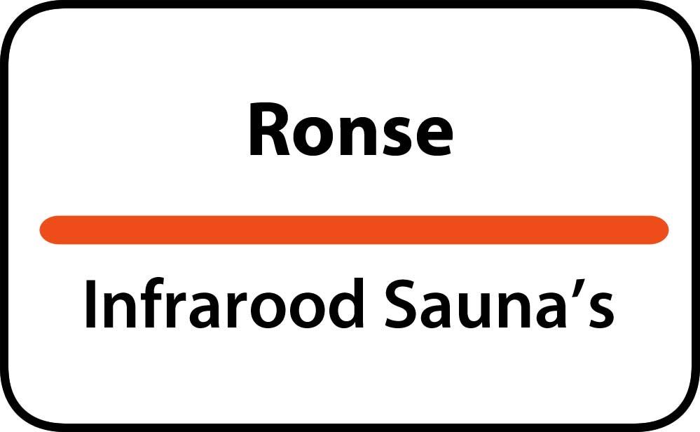 infrarood sauna in ronse