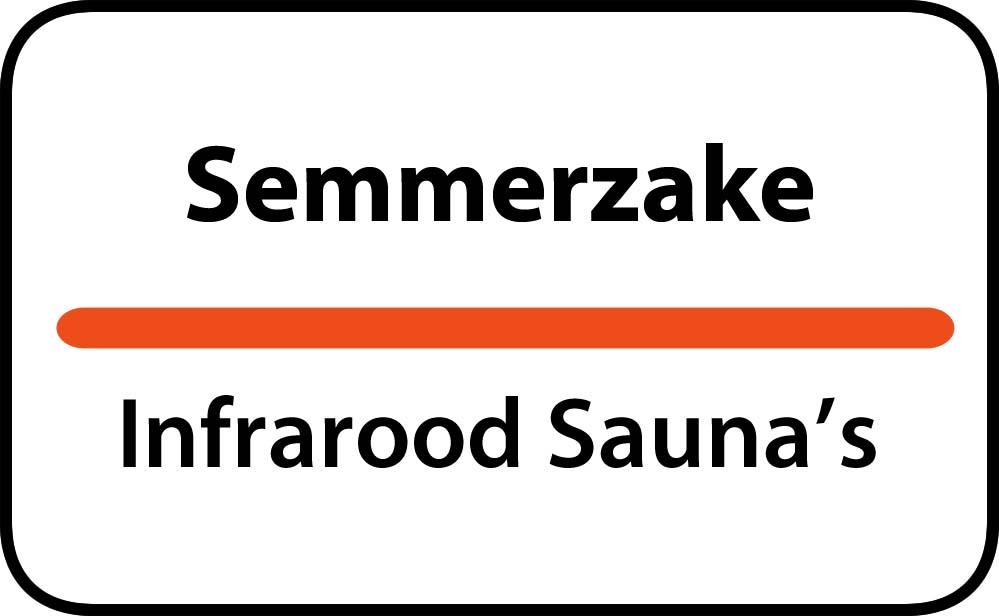infrarood sauna in semmerzake
