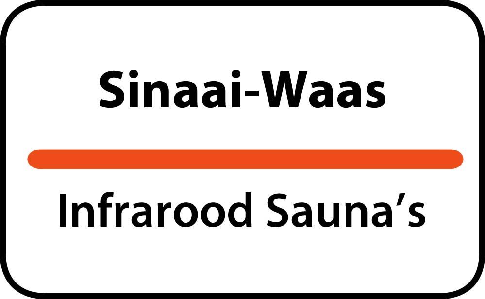 infrarood sauna in sinaai-waas