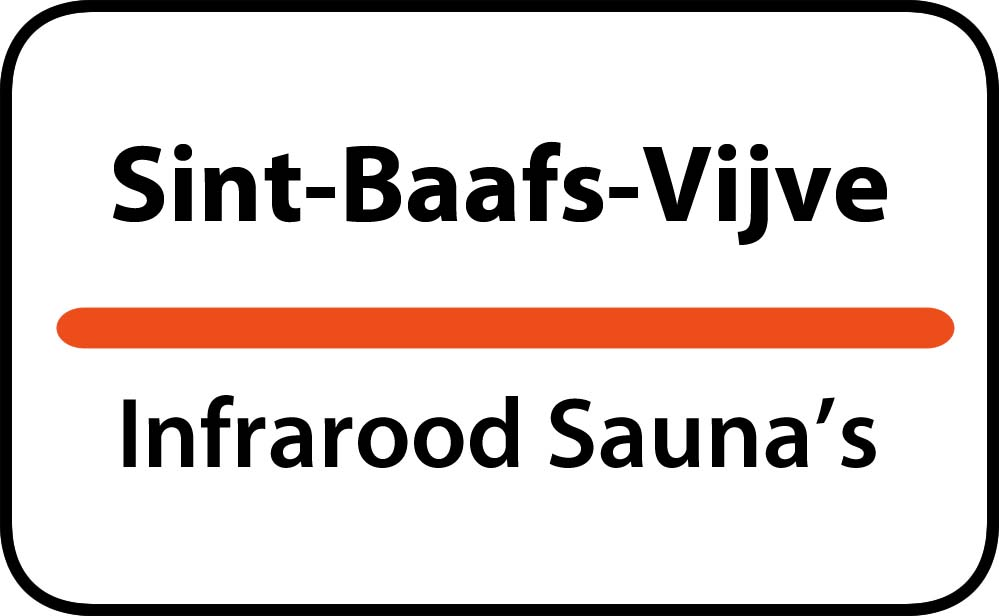 infrarood sauna in sint-baafs-vijve