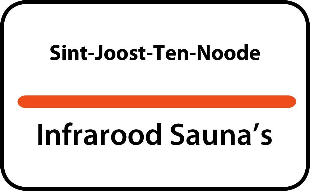 infrarood sauna in sint-joost-ten-noode