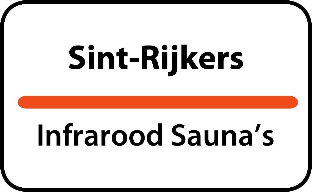 infrarood sauna in sint-rijkers