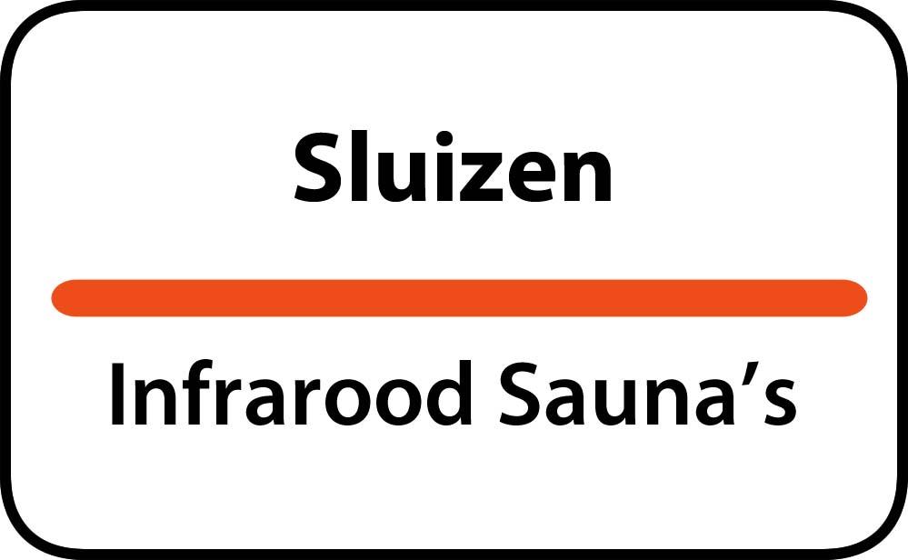 infrarood sauna in sluizen