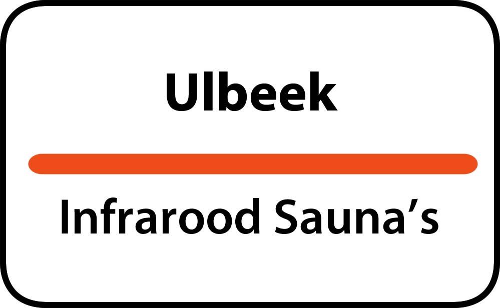 infrarood sauna in ulbeek