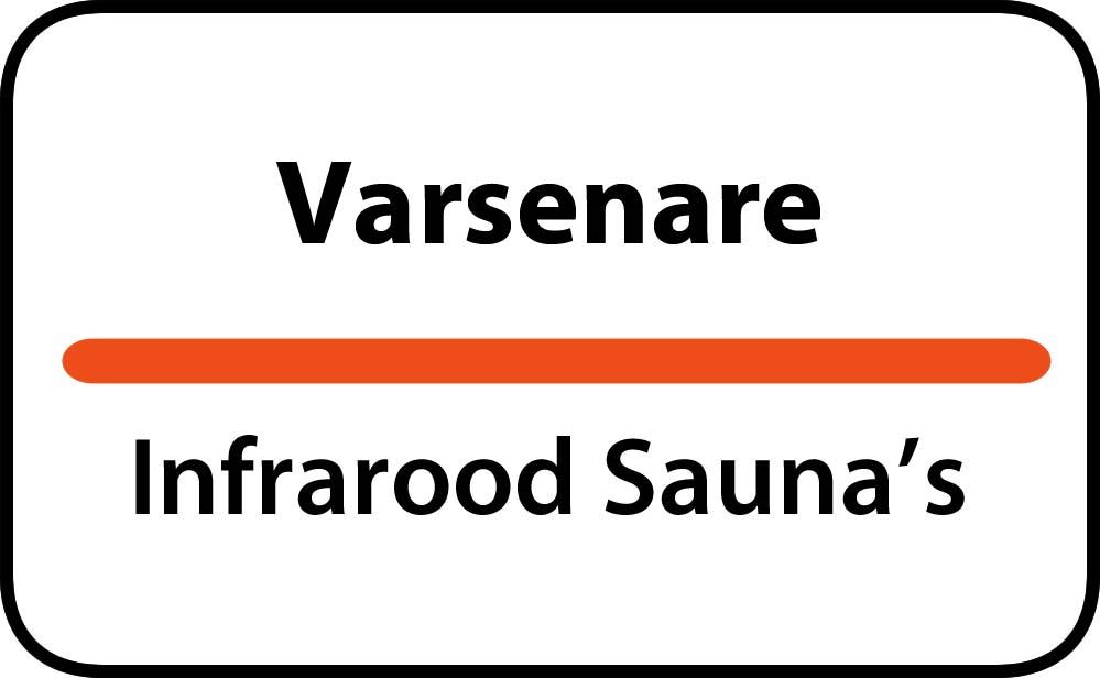 infrarood sauna in varsenare
