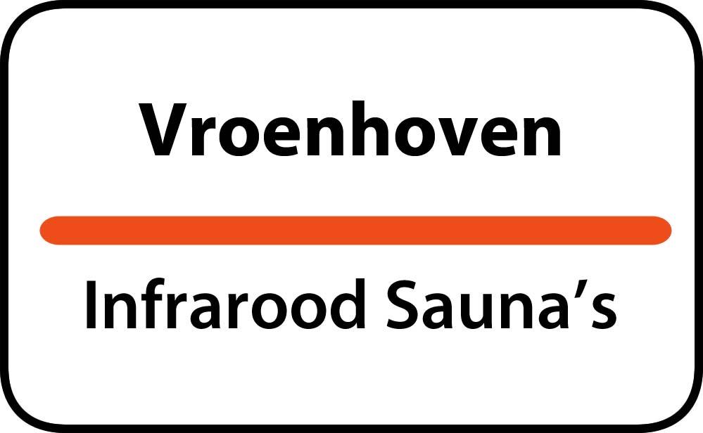 infrarood sauna in vroenhoven
