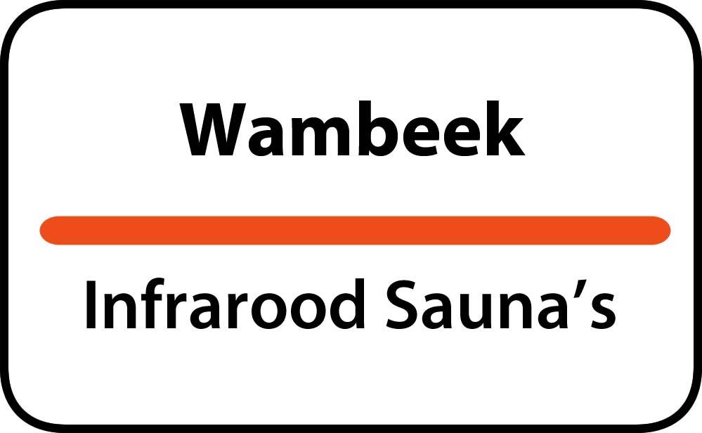 infrarood sauna in wambeek