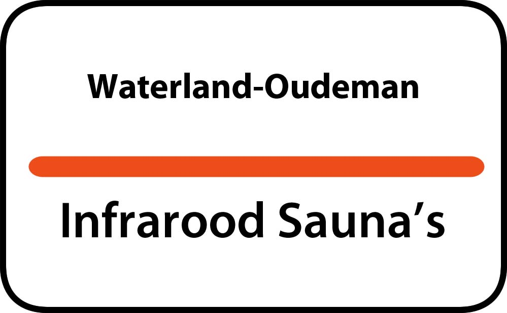 infrarood sauna in waterland-oudeman
