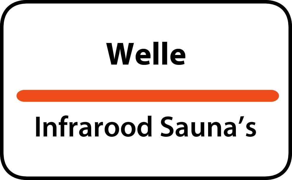 infrarood sauna in welle