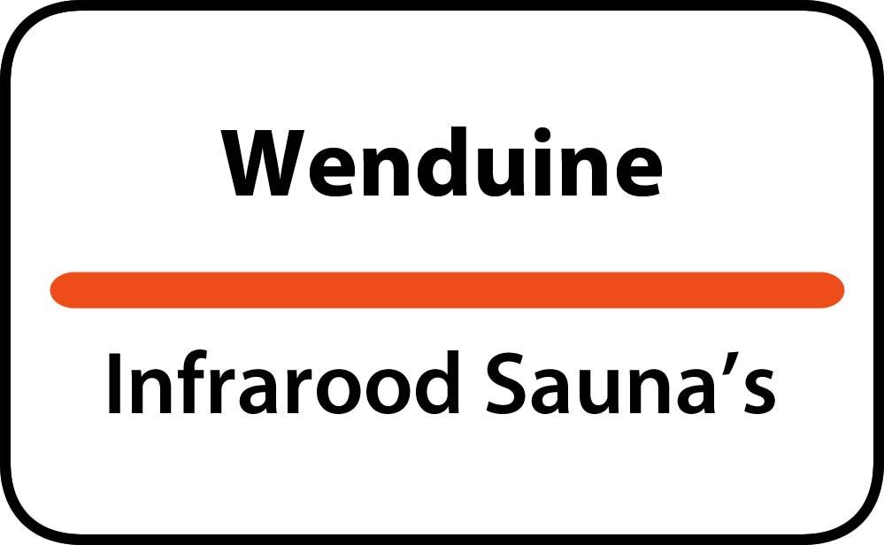 infrarood sauna in wenduine