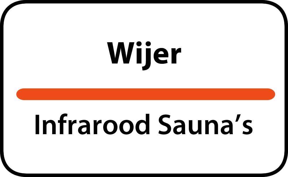 infrarood sauna in wijer