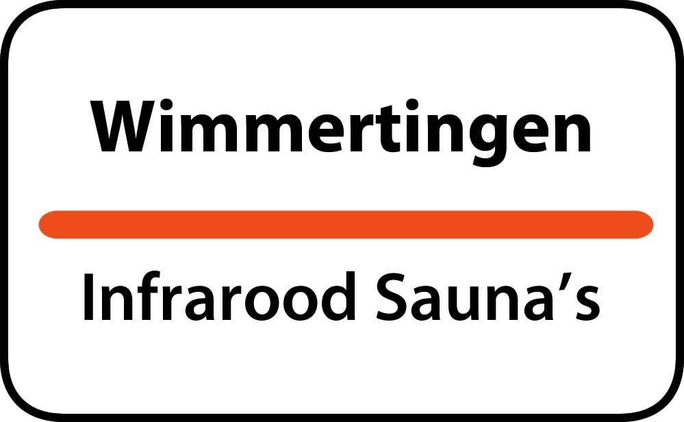 infrarood sauna in wimmertingen