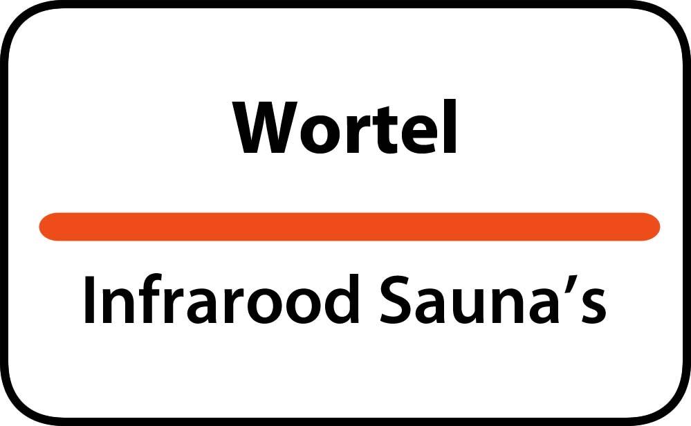 infrarood sauna in wortel