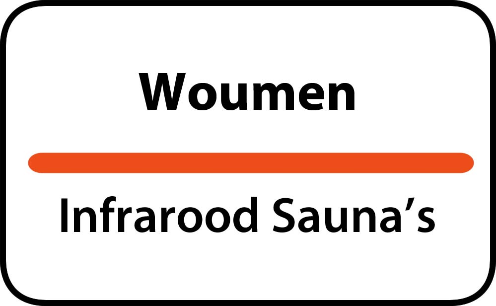 infrarood sauna in woumen