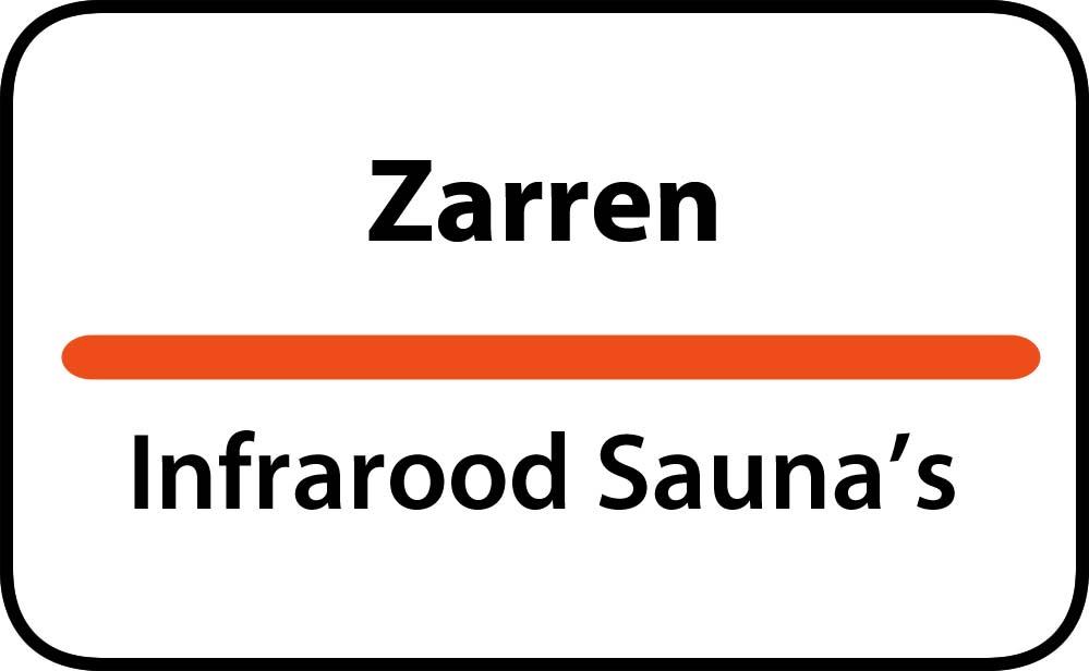 infrarood sauna in zarren