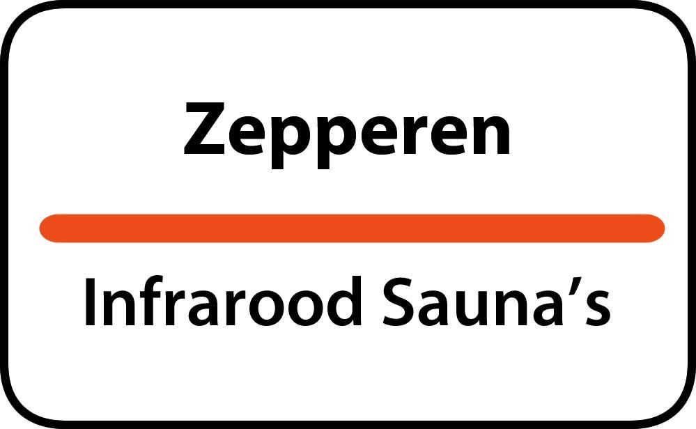 infrarood sauna in zepperen