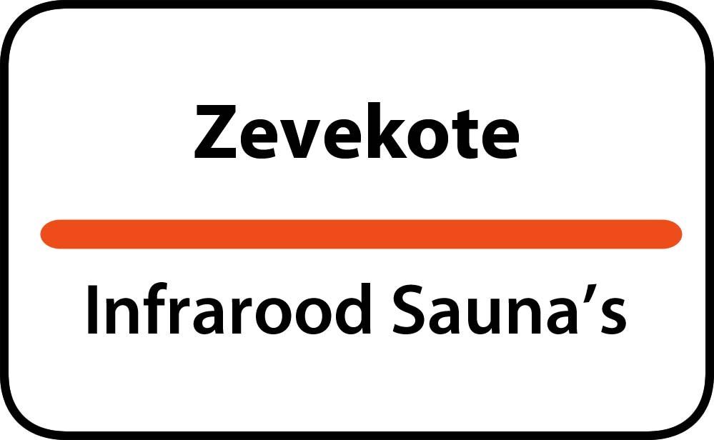 infrarood sauna in zevekote