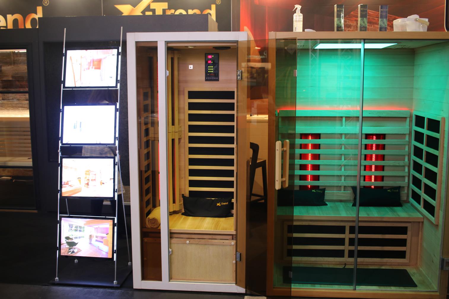een infrarood sauna