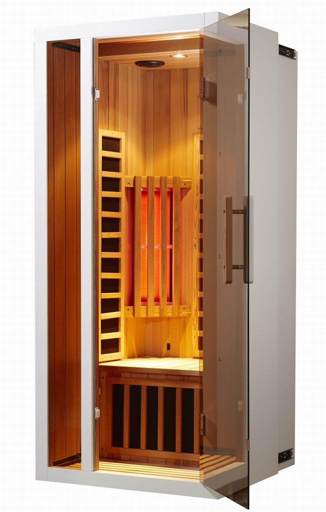 houtsoorten infrarood sauna