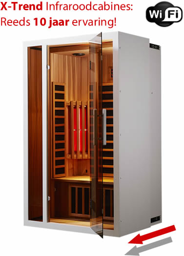 infraroodcabine wifi infrarood sauna