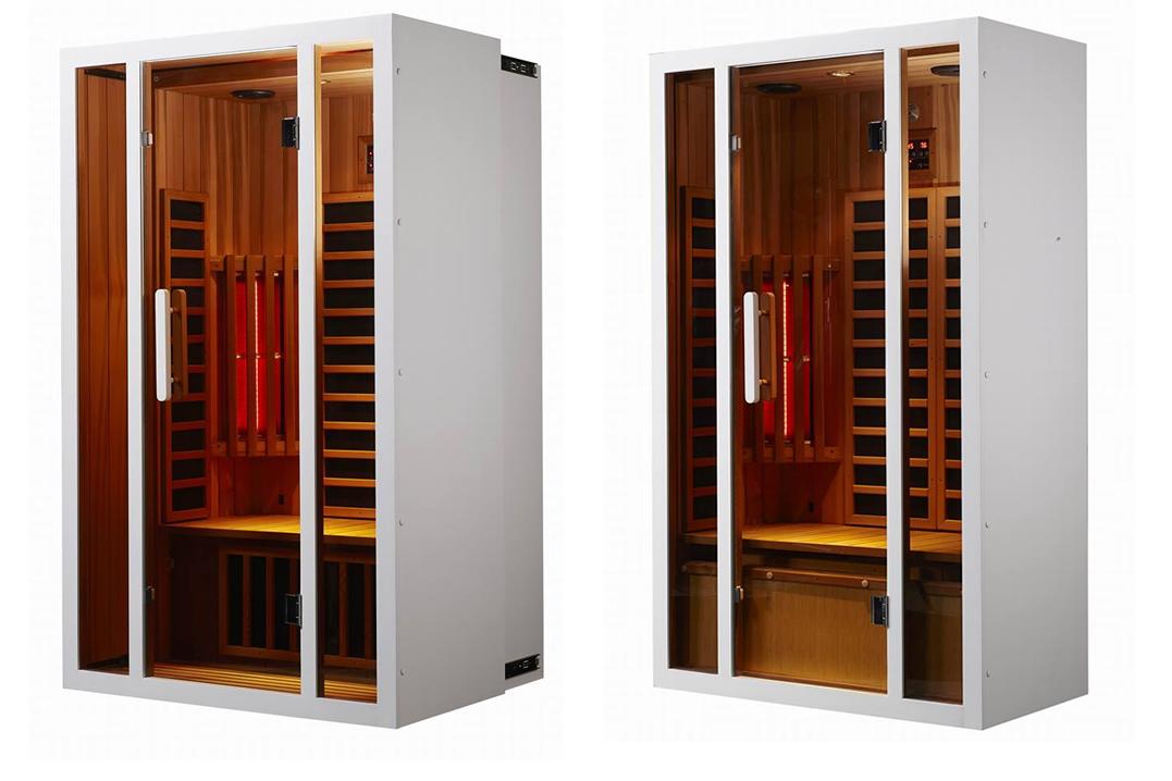 korte golf infrarood sauna