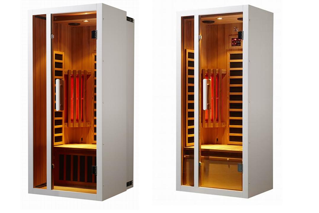 uitschuifbare infrarood sauna in Boutersem