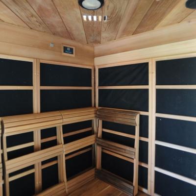 zelfbouw infrarood sauna